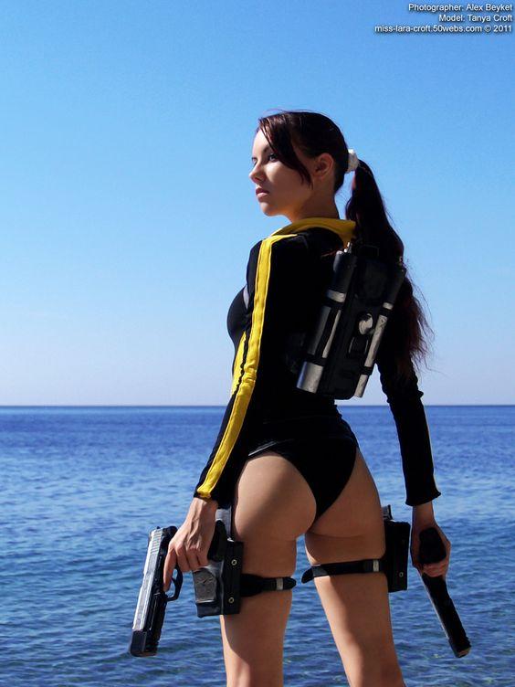 Subject: Lara Croft   Model: Tanya Croft   Photographer: Alex Beyket   #Cosplay #TombRaider    Pin by @settimamas