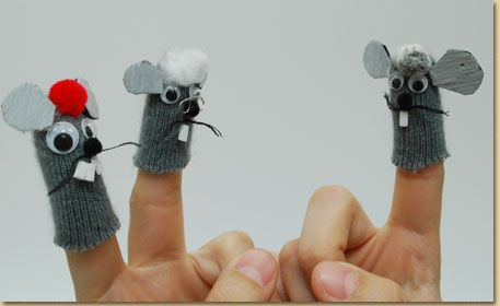 Mice Finger Puppets