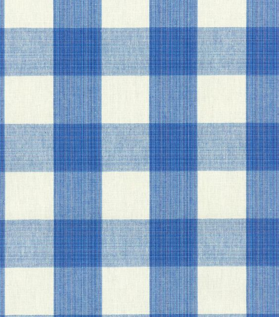 $20/yard Upholstery Fabric-Williamsburg Stratford Check Blubell:
