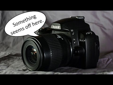 Introduction to the Nikon D40, Video 4 of 12 (Mode Dial) - YouTube