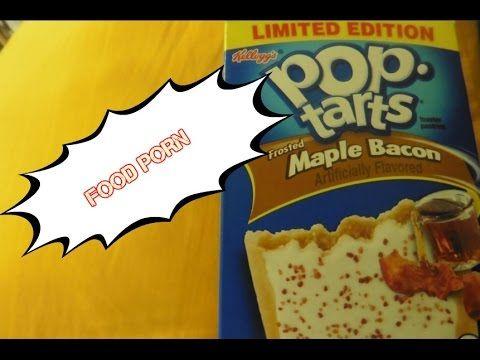 FOOD PORN: MAPLE BACON POP TARTS