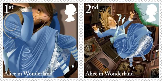 Royal Mail launches Alice In Wonderland stamps