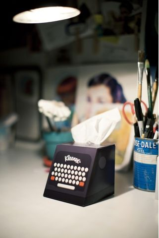 Kleenex Desktop Companion (Student Work)
