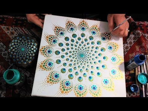 How To Paint Dot Mandalas Dollar Tree Valentines Day Gift