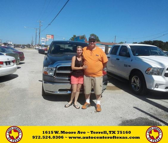 https://flic.kr/p/K9QjzE | Happy Anniversary to Frank on your #Ram #1500 from David Herrera at Auto Center of Texas! | deliverymaxx.com/DealerReviews.aspx?DealerCode=QZQH