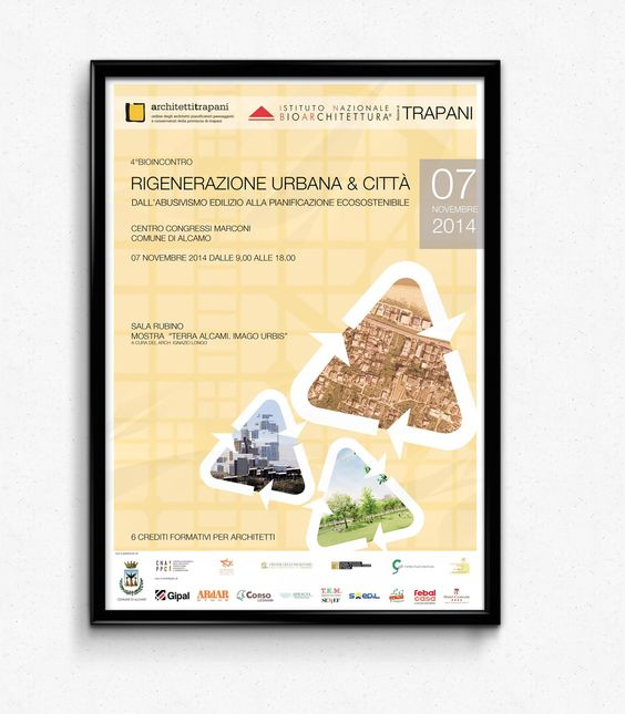 bioarchitettura, poster evento