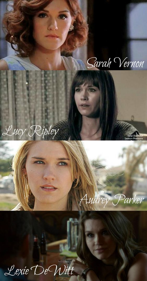 Who am I? The many faces of Audrey Parker, Haven.