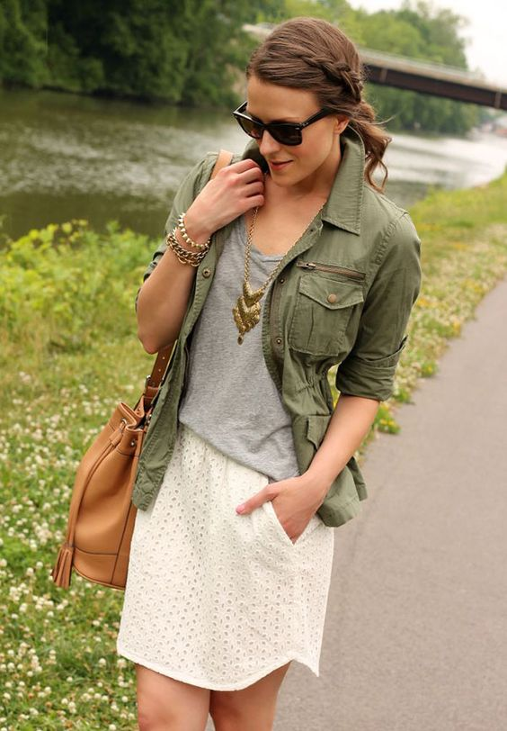 20 Style Tips On How To Wear Military or Utility Jackets