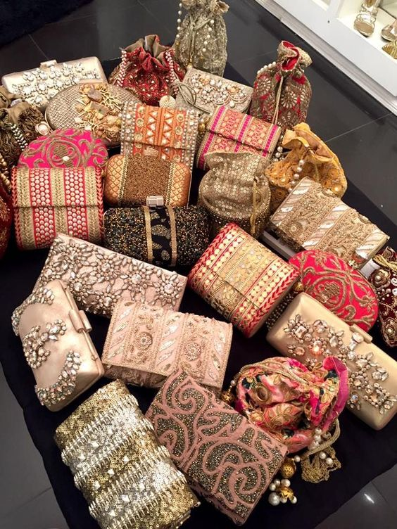 Assorted Bridal Clutches