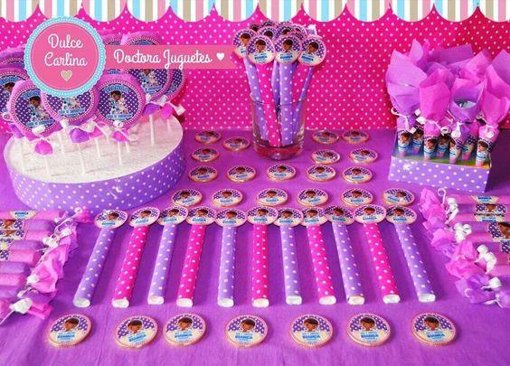 Candy Bar Doctora Juguetes ♡ Golosinas Personalizadas