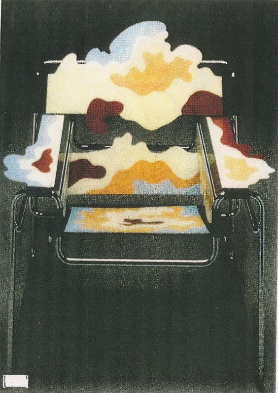 si ge d 39 auteur wassily de marcel breuer par alessandro mendini collection redesign de si ges du. Black Bedroom Furniture Sets. Home Design Ideas