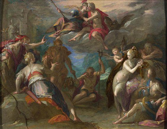 The Amazement Of The Gods  Hans von Aachen