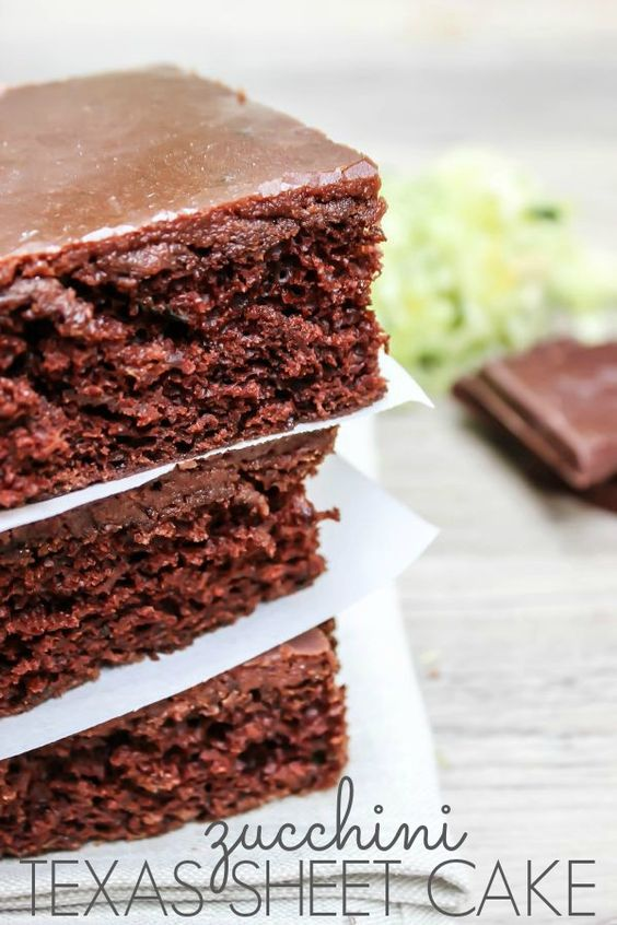 Zucchini Texas Sheet Cake is a crowd pleasing chocolate zucchini cake with a deliciously rich buttermilk chocolate frosting.
