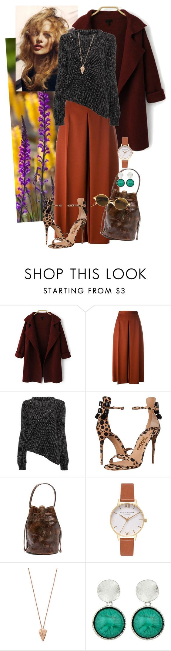 """Untitled #91"" by jonestyle ❤ liked on Polyvore featuring Alexander McQueen, Salvatore Ferragamo, Donald J Pliner, Olivia Burton, Pamela Love and Moschino"