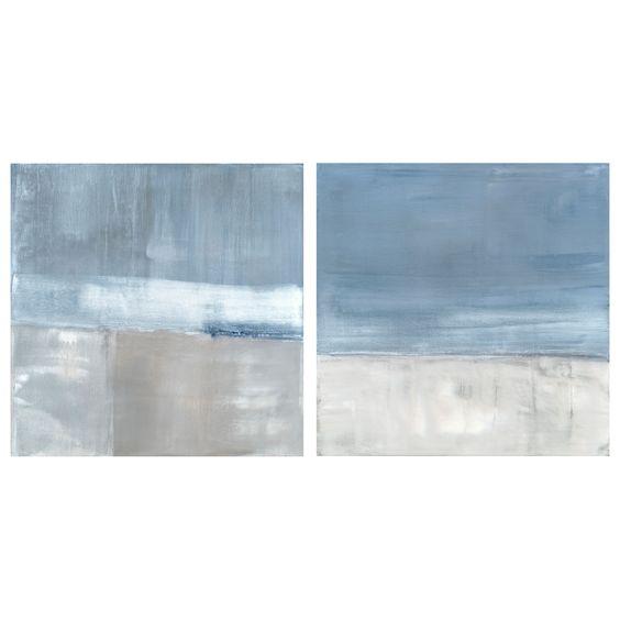 Adrift II Stretched Canvas Art @Layla Grayce