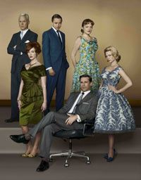 A Twitter and Pinterest trend is helping to promote the premiere of season five of AMC's Mad Men.