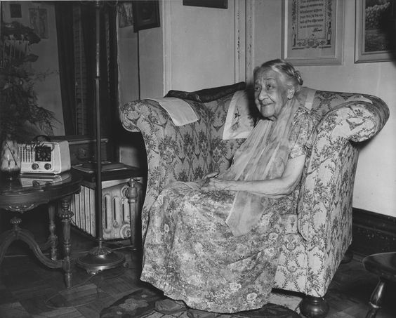 This was the last known photograph taken of Dr. Anna J. Cooper in her Washington, D.C. home. Dr. Cooper was an American scholar and educator. Born a slave in Raleigh, North Carolina, when she earned her PhD in history from the University of Paris-Sorbonne in 1924, Dr. Cooper became the fourth African-American woman to earn a doctoral degree. Photo Source: Smithsonian Institution, National Museum of American History