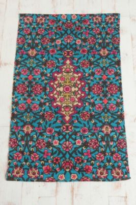 3x5 floral fence rug #Anthropologie #PinToWin