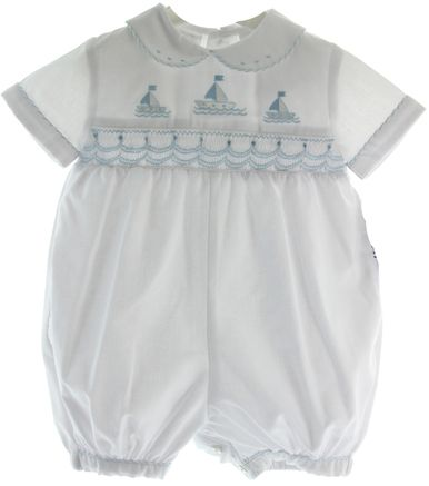 Shop online for newborn boutique clothing. We carry baby boy rompers, infant girl smocked dresses, and newborn take home outfits. FREE Shipping over $150.