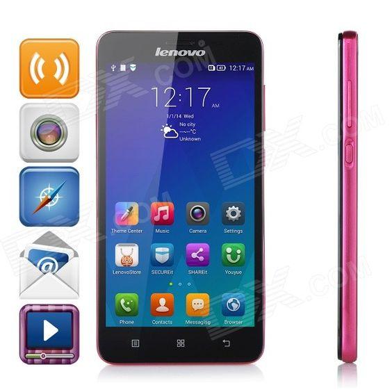 Lenovo S850 MTK6582 Quad Core Android 4.4 WCDMA Phone 5 IPS, 13MP Cam, 16GB ROM…