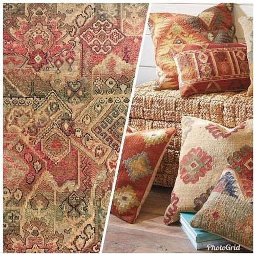1 Yard Remnant Kilim Kover Vdohnovlennyj Barhatnye Chenille Obivochnye Tkani Krasnyj Zelenyj Neobychnye Stili Tkani Boutique Bohemian Rug Decor Blanket