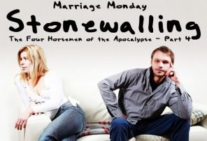When stonewalling attains a presence in the marriage, avoiding conflict at all cost through disengagement becomes the priority, and as a byproduct, one spouse avoids the partner altogether.   And be kind and compassionate to one another, forgivingone another, just as God also forgave you in Christ. -Ephesians 4:32