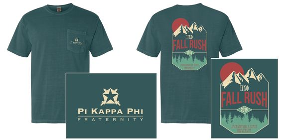Pi Kappa Phi Fall Rush Shirt 2015 - Tilt
