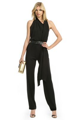 Classic, Black jumpsuit and Black on Pinterest