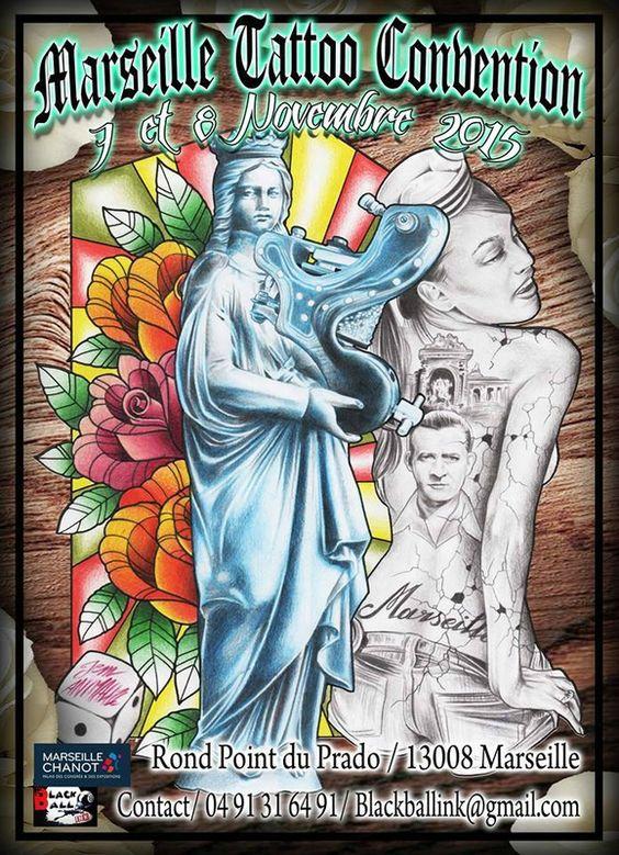 Salon international du tatouages, parc Chanot 13008 Marseille, 7