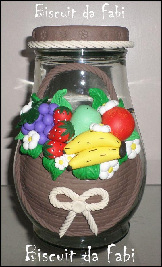 Pote cesta de frutas