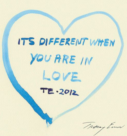 TRACEY EMIN http://www.widewalls.ch/artist/tracey-emin/ #contemporary #art #urbanart