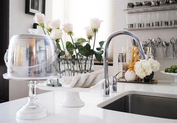 brancoprata decoracao:decoracao-cozinha-preto-branco-prata-dourado-glamourai-kelly-framel-04