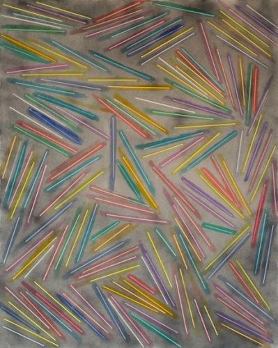 Scott Reeder - acrylic and enamel on canvas
