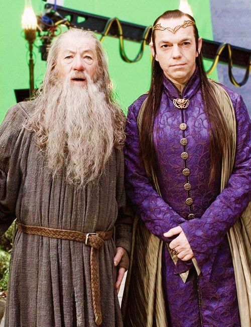 Gandalf & Lord Elrond, aka Awesomeness Personified.