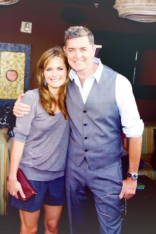 Maggie Lawson  and Timothy Omundson        From Psych!