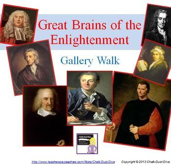 enlightenment philosophers gallery walk activity activities the o 39 jays and the classroom. Black Bedroom Furniture Sets. Home Design Ideas