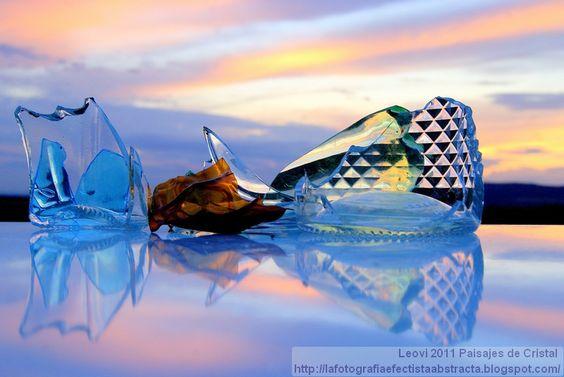 La Fotografía Efectista Abstracta. Fotos Abstractas. Abstract Photos.: Abstract Photo 2277 Crystal Landscape 70   You'll Break My Heart Again    Another amazing piece by Leovi