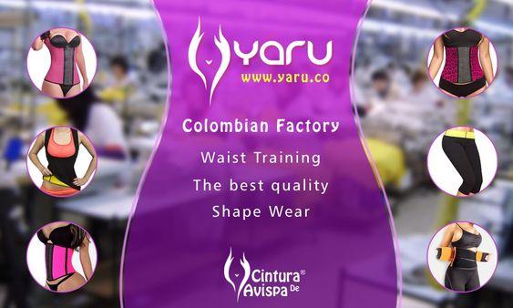 YARU Fabrica Colombiana Fajas Latex Neopreno