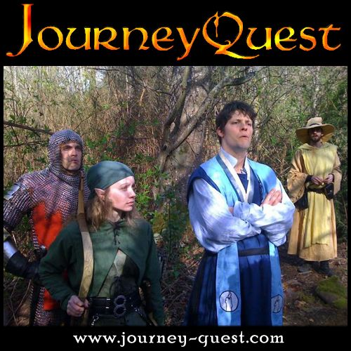 """http://www.hulu.com/watch/193622 JourneyQuest is a fantasy comedy web series from the creators of """"The Gamers"""" and """"The Gamers: Dorkness Rising""""."""