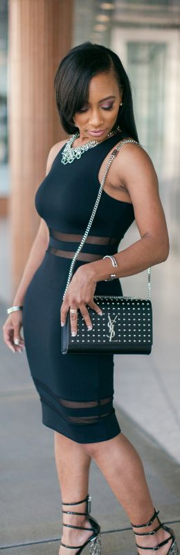 Little Black Dress / Fashion look by Madame Smith: