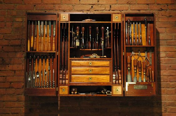 Carpenters Tool Cabinet   From a unique collection of antique and modern industrial furniture