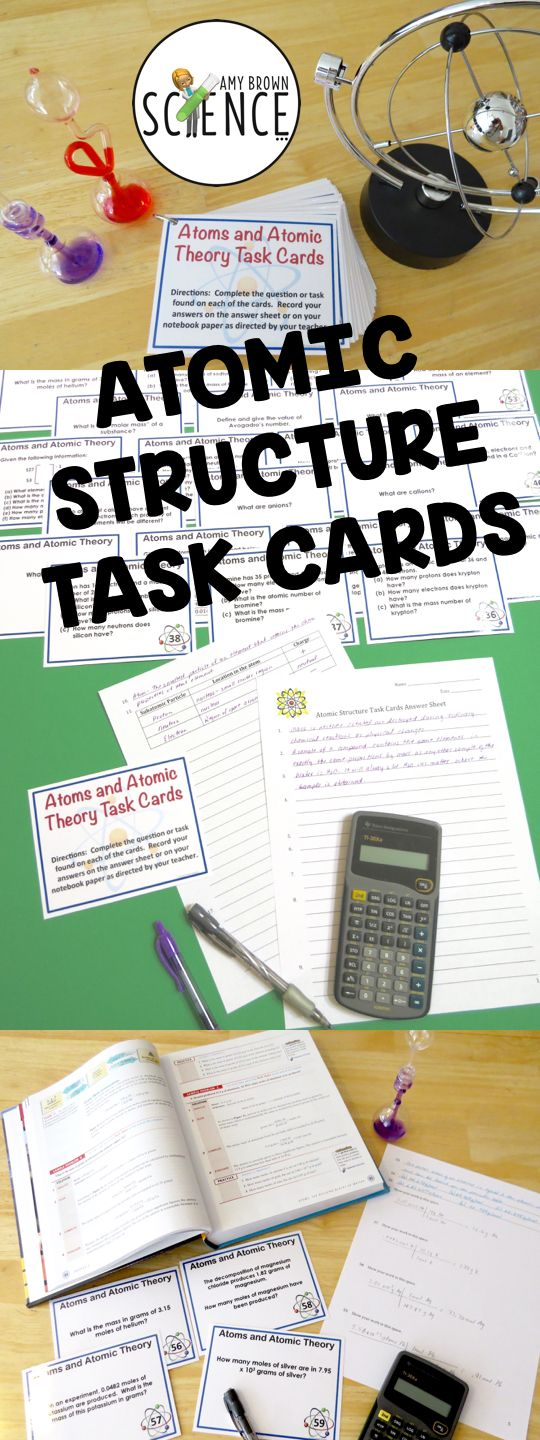 Atomic Structure Worksheet  Worksheets And Students