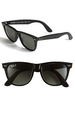RAY BAN Designer Classic Wayfarer Polarized 54mm Sunglasses