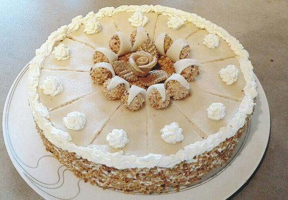 Giotto Torte zur Goldenen Hochzeit