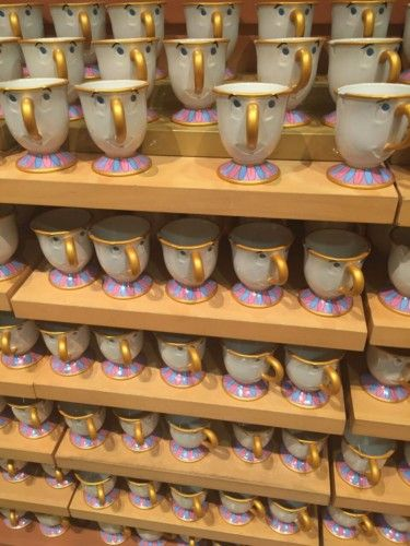 Commemorate your trip by getting one of the Disney Coffee Mug souvenirs.