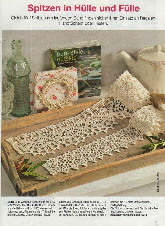 German - wide edging Crochet: Edging