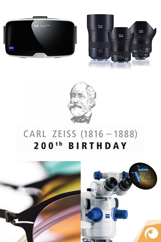 200 Years Carl Zeiss - Happy Birthday!!!  #Zeiss #CarlZeiss #VRONE #objective #sunglasses #birthday