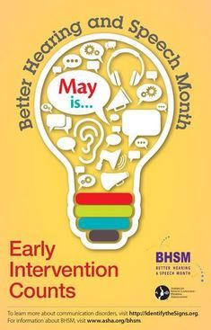 may is better hearing and speech month ideas from asha