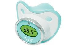 Get your baby's temperature without disturbing their sleep with the Pacifier Thermometer. .