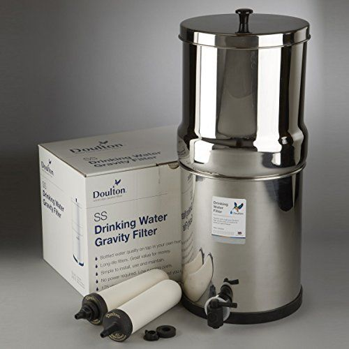 W9361122 Doulton Ss2 Countertop Filter System Stainless Steel